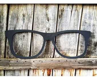 Hipster Glasses Wall Decor