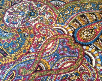 Shawl wool. Russia, Pavlovo Posad
