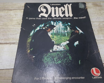 Duell, Vintage Board Game, 1976, lakeside game