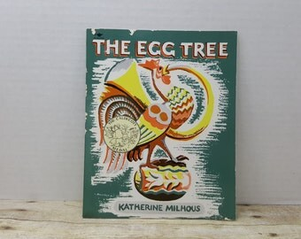 The Egg Tree, 1981, Katherine Milhous, vintage easter book