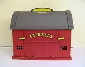 Farm Toy Big Red Barn with over 100 other pieces, nice pretend play set!