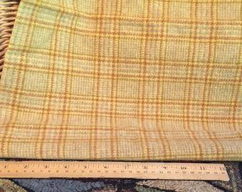 Wool Fabric Fat Quarter Butterscotch W216
