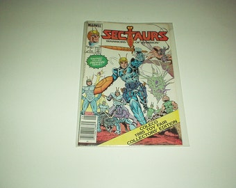 Marvel Comics SECTAURS - Warriors Of Symbion #1 Comic 1985 (Fantasy Filled Premiere Issue & Coleco 1985 Toy Fair Collectors Edition)New/Rare