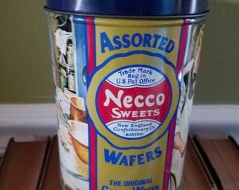 All American Necco Candy Tin