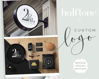 Custom Logo Design Package,  BRONZE,  Professional Logo Design
