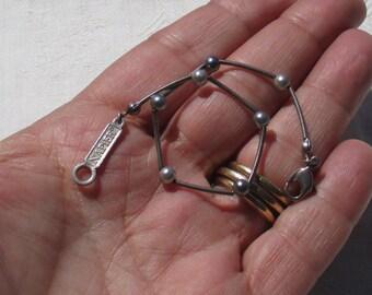 Retro Napier Wire Beaded Bracelet