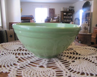 Vintage Green Bowl
