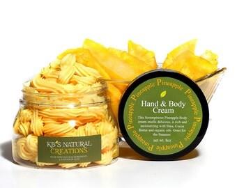 Summer is here - Pineapple Hand & Body Cream