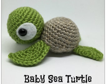 Amigurumi Baby Sea Turtle