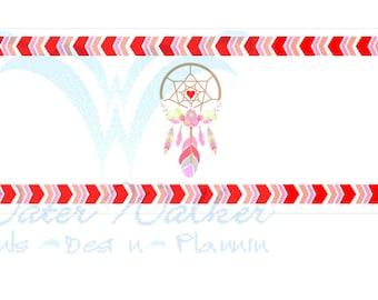 Instant Download for Dreamcatcher Valentine bottle wrappers