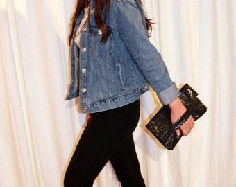 black lace clutch bag, black evening bag, small bag, black purse, black clutch bag,