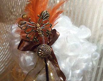 Steampunk Lolita Flapper Fairy Butterfly Headband
