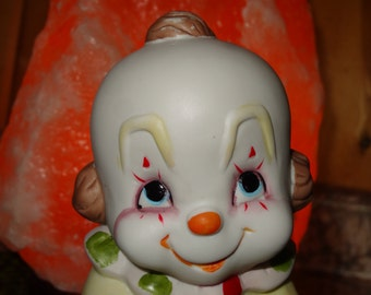 Clown Nursery Night Light / Nursery Night Light / Childrens Night Light / Interpur Night Light