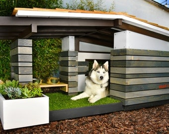 Modern Dog House Mid Century Ranch