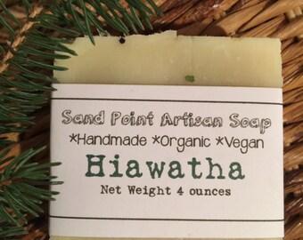 Organic Vegan Hiawatha Soap