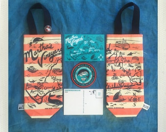 Martha's Vineyard Wine Tote