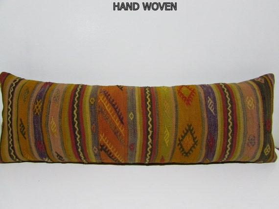 16x48 Inch Big Pillow Kilim Pillow Large By