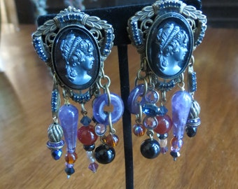 FREE Shipping Sorrelli Cameo Chandelier Earrings
