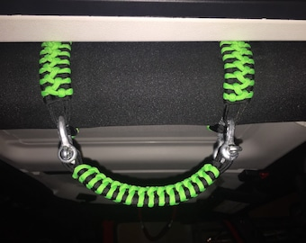Jeep Paracord Grab Handles (2 fronts)