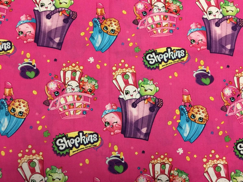 Travel Pillow Case Child Pillow Case Shopkins Pink
