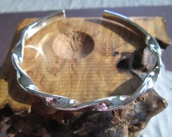 STERLING SILVER 925 Twist Bracelt/Cuff