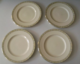 Minton Wimbledon Bone China Set Of Four Dinner Plates
