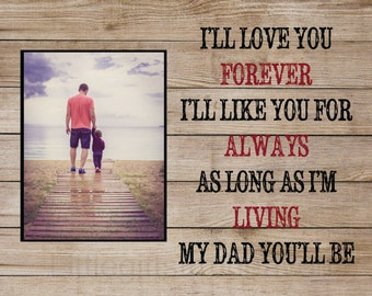 Rustic Father's Day gift, gifts for dad, daughter to father gift, son to father gift, gift from daughter, gift from son, gift from children