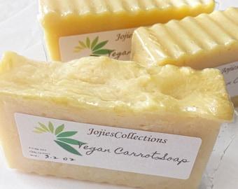 Vegan Carrot Soap