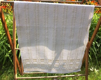 HandWoven Shaker Inspired Dish Towel in Linen & Cotton