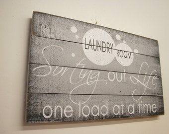 Laundry Room Signs Etsy - Laundry room signs