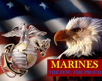 USMC The Few. The Proud.
