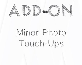 Add-On: Minor Photo Touch-Ups