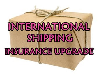 ADD SHIPPING INSURANCE for International World Wide Shipping