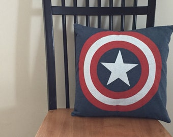 Captain America Recycled T-Shirt Cover