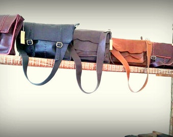 Order made Leather Tote Bag
