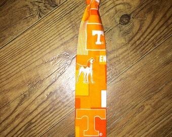 University of Tennessee/ Vols/Volunteers/boys Tie/UT/Basketball/Baseball/football/sec/ toddler tie/smoky