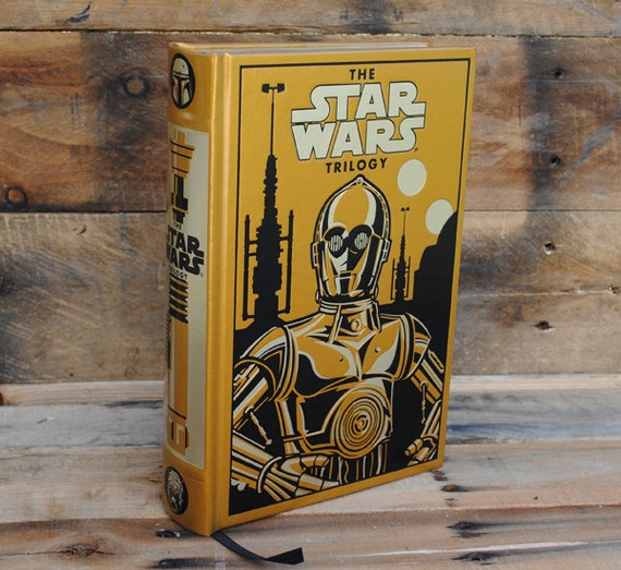Hollow Book Safe - The Star Wars Trilogy - C3PO Leather Bound