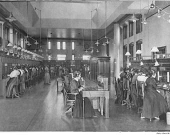 Montreal, Canada, Telephone Operators, 1890's Quebec