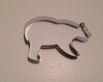 """5.25"""" Grizzly Bear Cookie Cutter"""