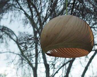 Wind Veneer Lampshade Bamboo