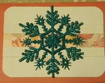 3D Snowflake card