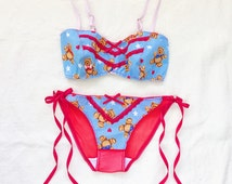 The 'Play Date' Bralette, ddlg, teddy bear, bra last one