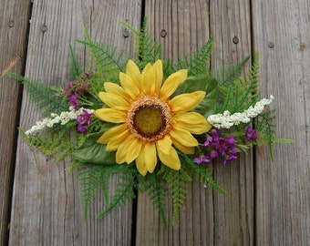 Fairy Sunflower Hair Clip