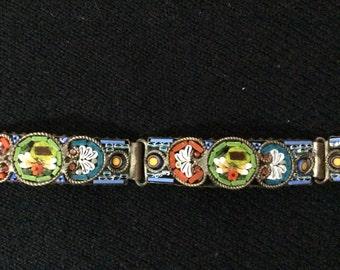 1940s Micro Mosaic Bracelet