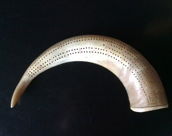Moroccan Cribbage Game Horn