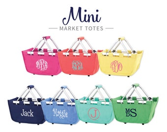 Personalized Easter Basket Mini Market Tote