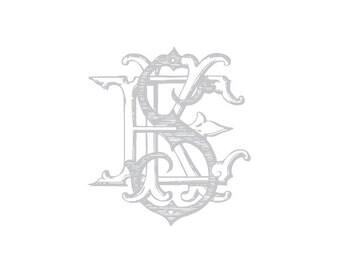 Custom Vintage Monogram