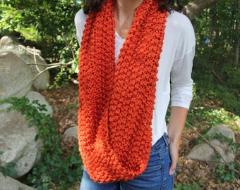 "Infinity Scarf, Pumpkin ""The Emily"""