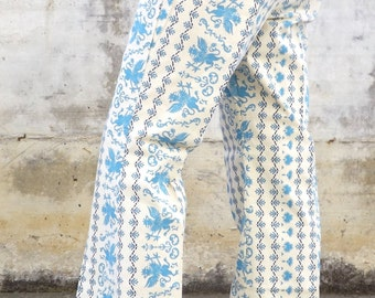 Vintage cotton trousers size S, made ini taly, 1960