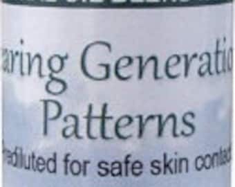 Clearing Generational Patterns Essential Oil Blend Aromatherapy - 0.3 fl oz (9 ml) Roll On